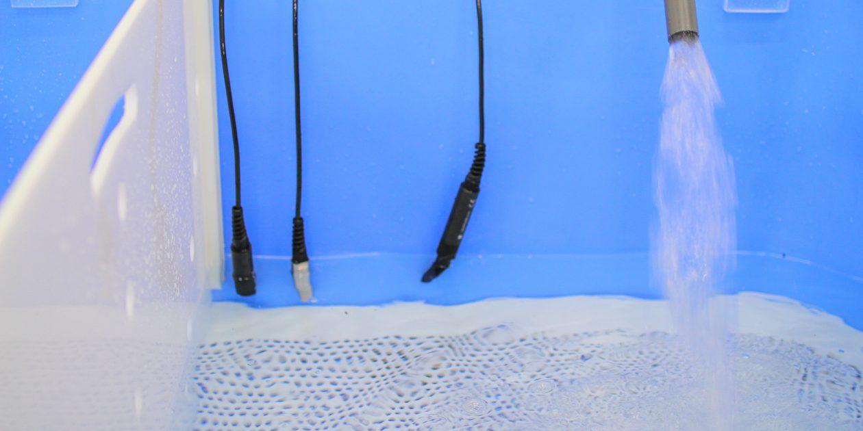 Sensores IoT de qualidade de água